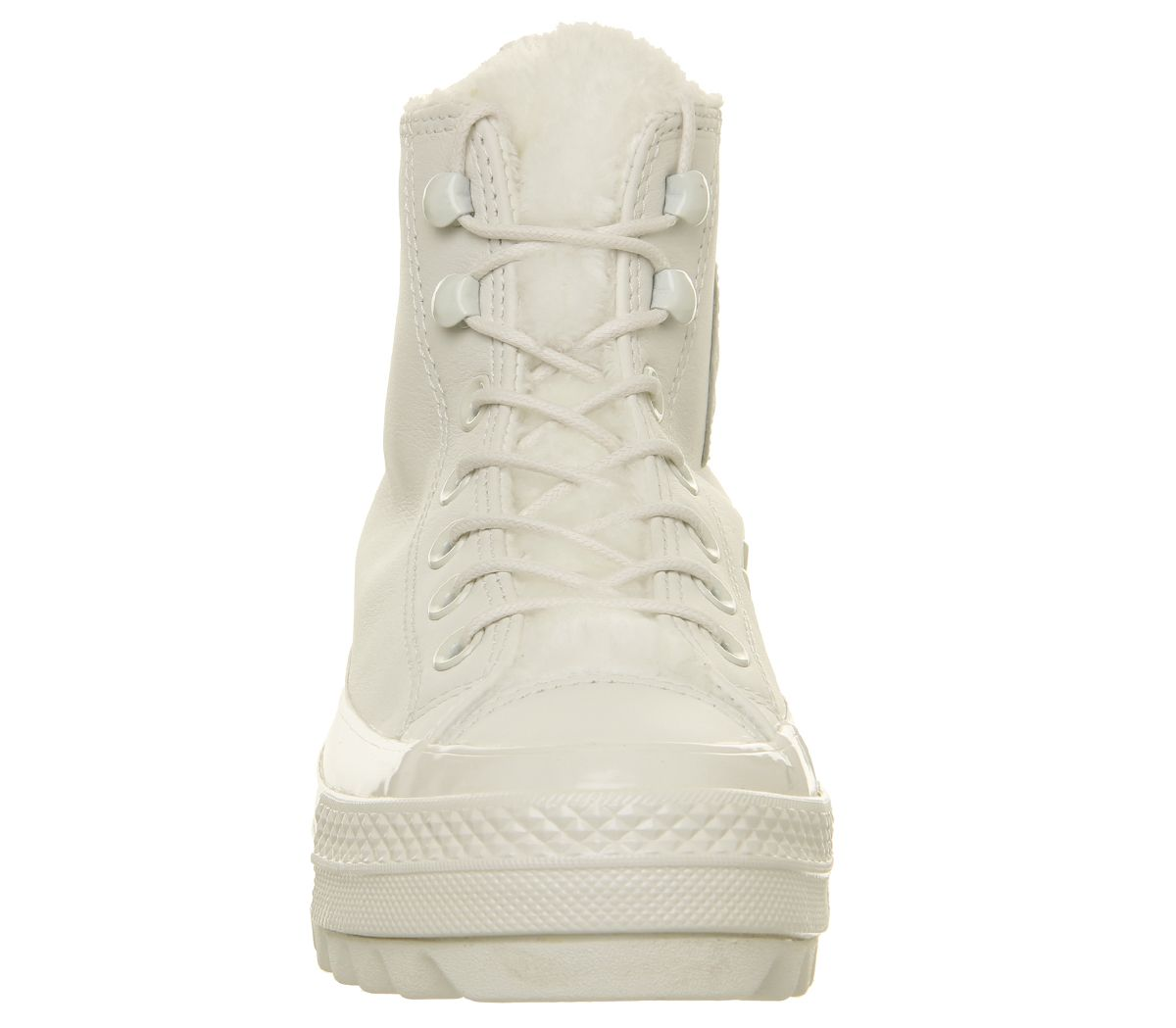 280c07316224 Converse Chuck Taylor All Star Lift Ripple Hi Trainers Vintage White ...