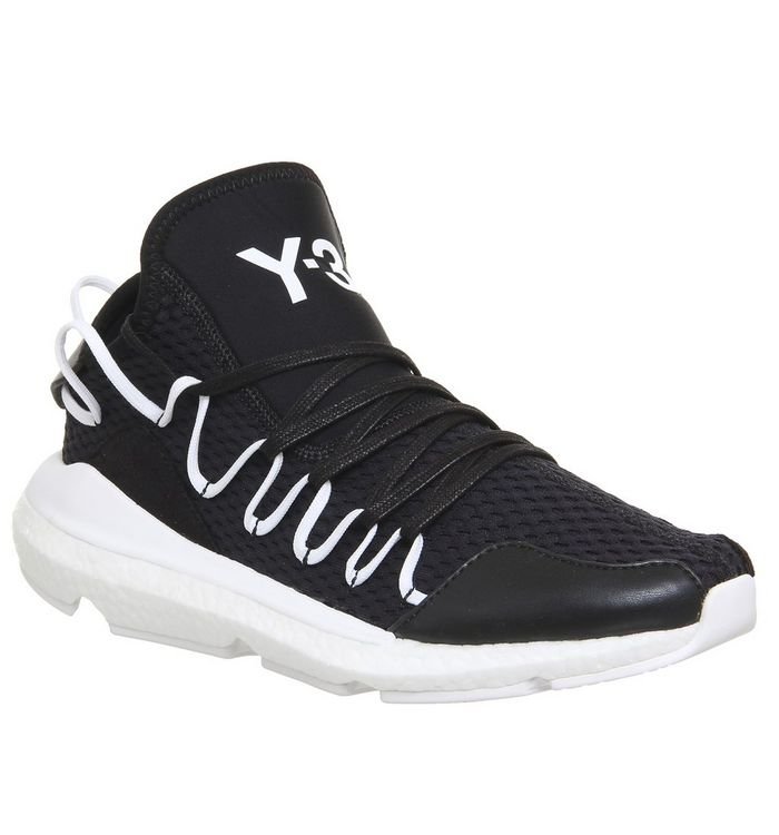 separation shoes 85d51 bbd41 ... adidas Y3, Y-3 Kusari, Black White Boost ...