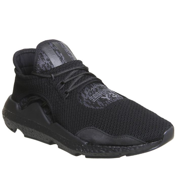 ace283309a0a5 adidas Y3 Y-3 Sairou Trainers Black Black Boost - Hers trainers