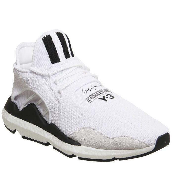cf50c38de5d01 adidas Y3 Y-3 Saikou White Black Boost - Hers trainers