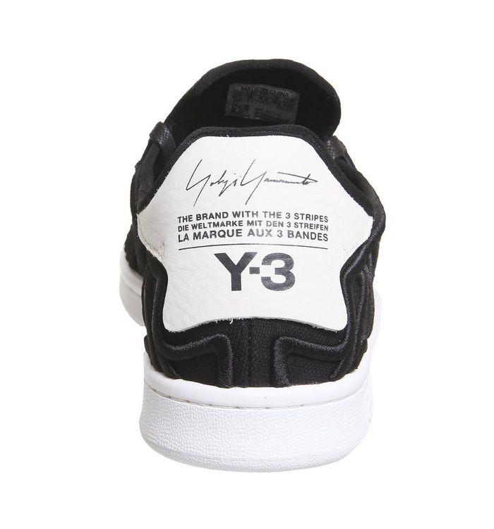 9aca25e95 adidas Y3 Y-3 Shishu Stan Black White - Hers trainers
