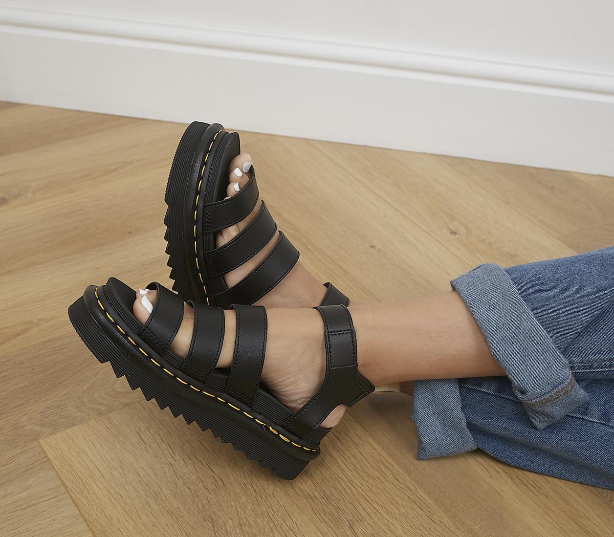V Blaire Sandals Black DrMartens Sandals Black DrMartens DrMartens V Blaire iXuOPZkT