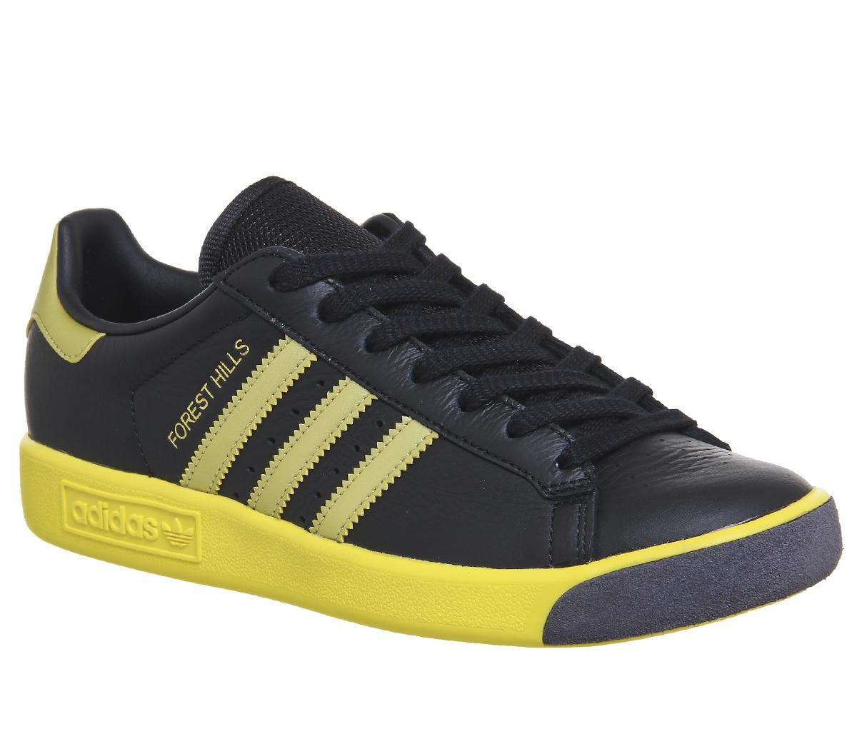 adidas Forest Hills Trainers Black Gold