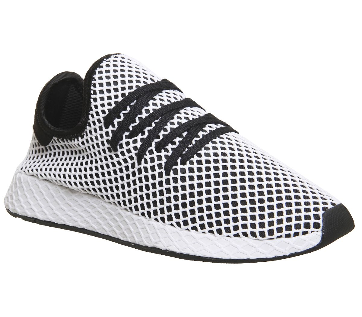 9be3776d4 adidas Deerupt Trainers Core Black White - Unisex Sports