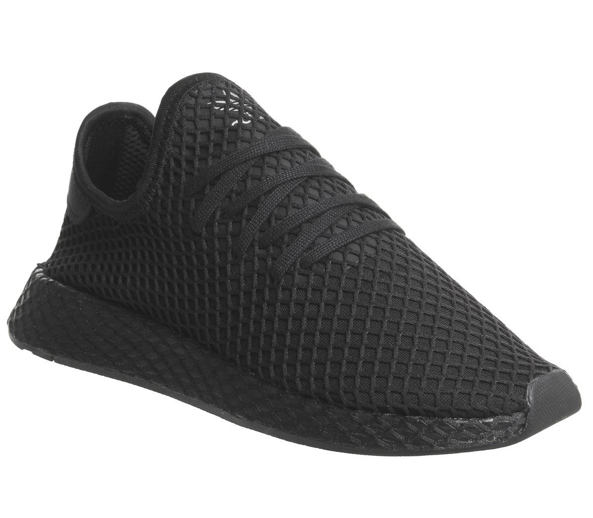 c52dbef5dc443 adidas Deerupt Trainers Core Black Core Black - Unisex Sports