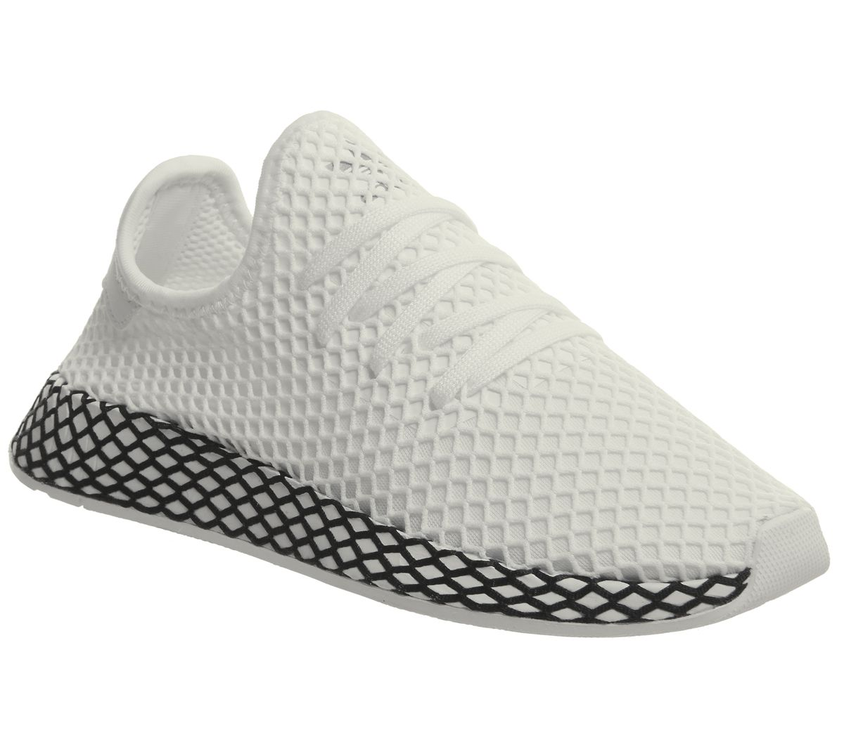 6c51dde5c adidas Deerupt Trainers White White Core Black - Unisex Sports