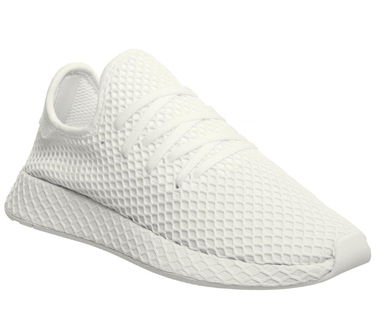 d26b0a8cc1103 adidas Deerupt Trainers White White White - Unisex Sports
