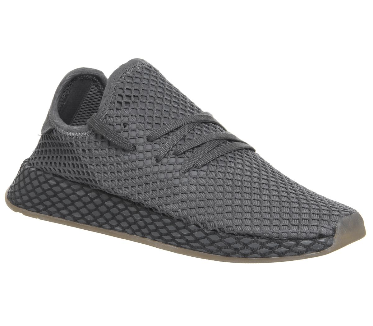 535d438bc adidas Deerupt Trainers Grey Grey White - Unisex Sports
