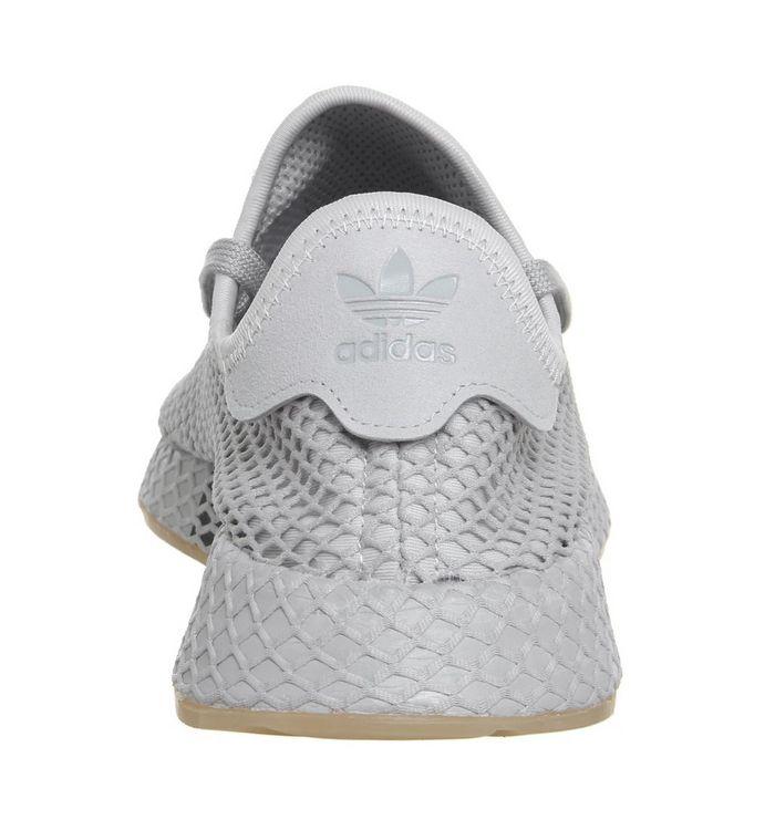 751247474 adidas Deerupt Trainers Grey Grey Gum - Unisex Sports