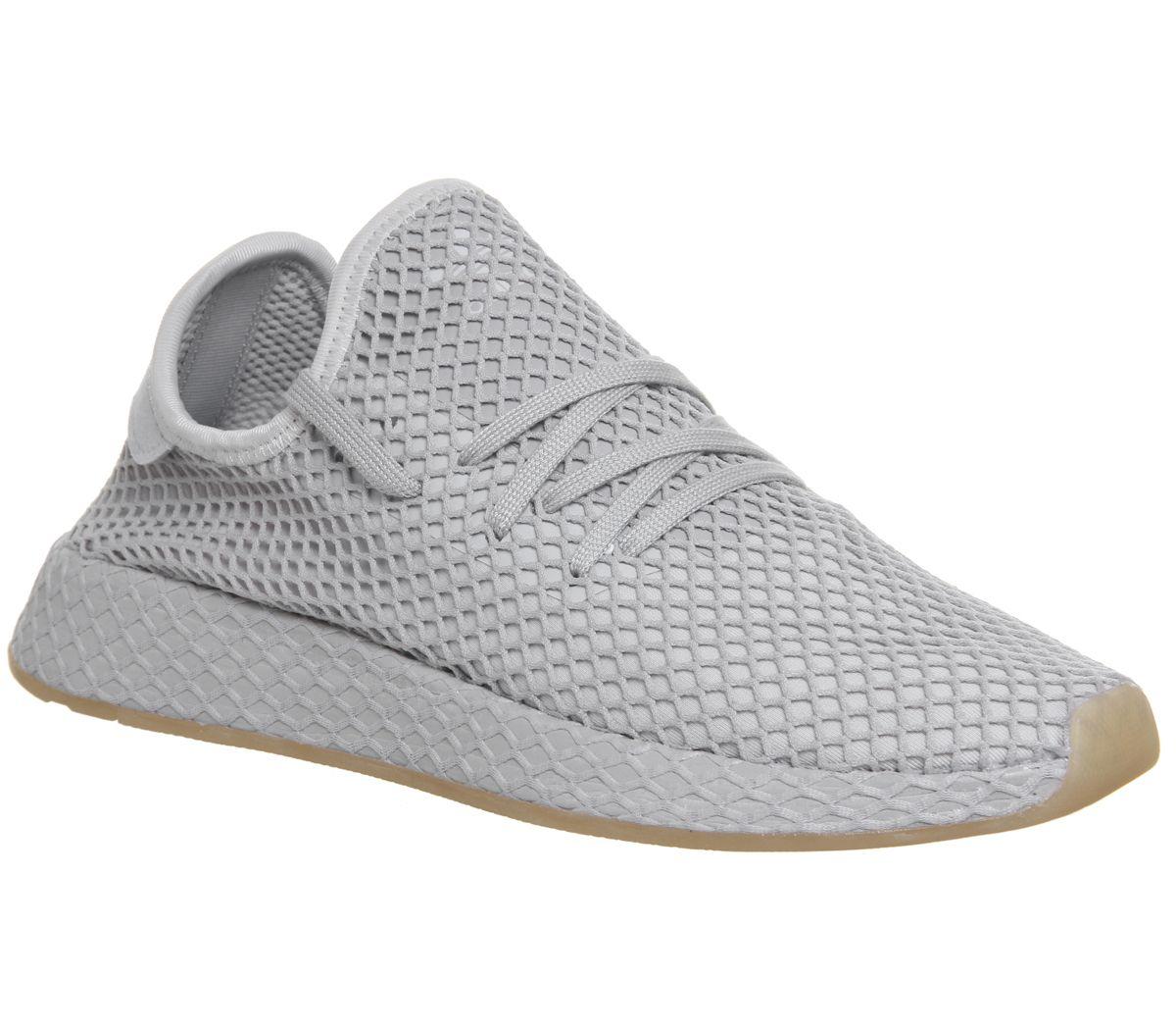 722fa6abd adidas Deerupt Trainers Grey Grey Gum - Unisex Sports