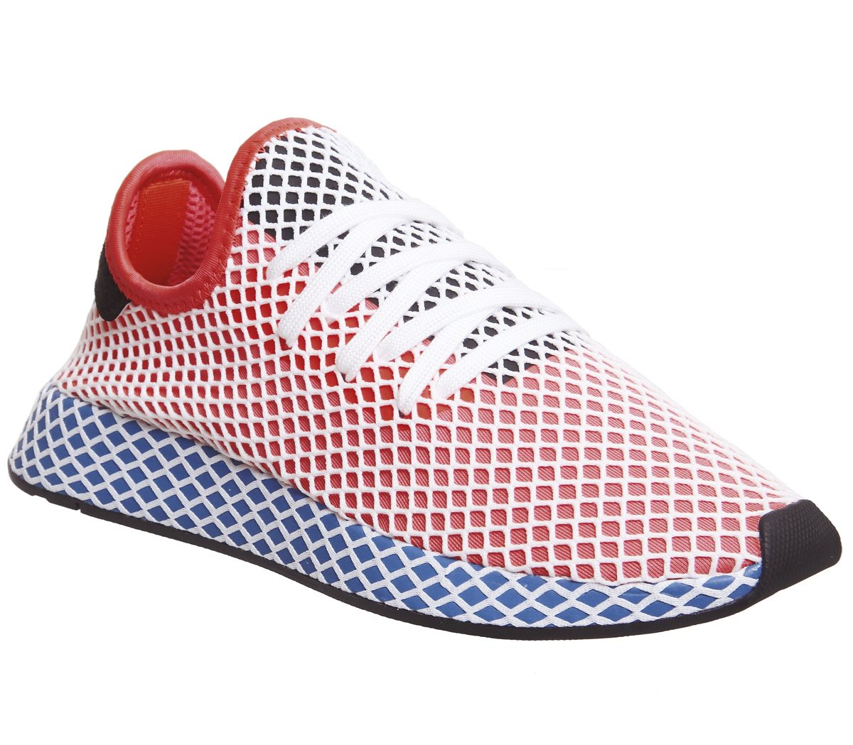 16f37e730 adidas Deerupt Trainers Solar Red Solar Red Bluebird - Unisex Sports