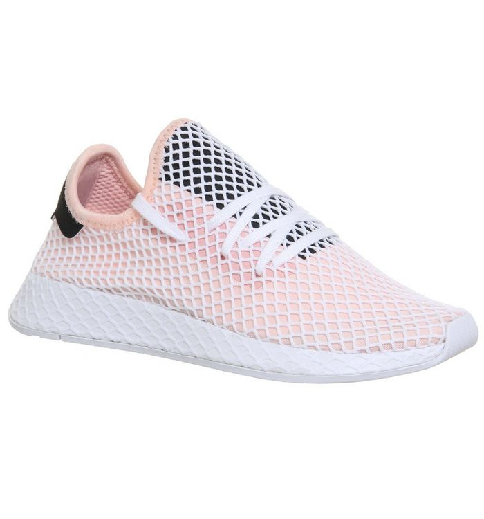2d308cbde adidas Deerupt Trainers Pink White Core Black - Unisex Sports
