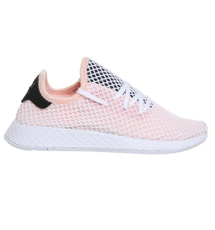 851deb694 adidas Deerupt Trainers Pink White Core Black - Unisex Sports