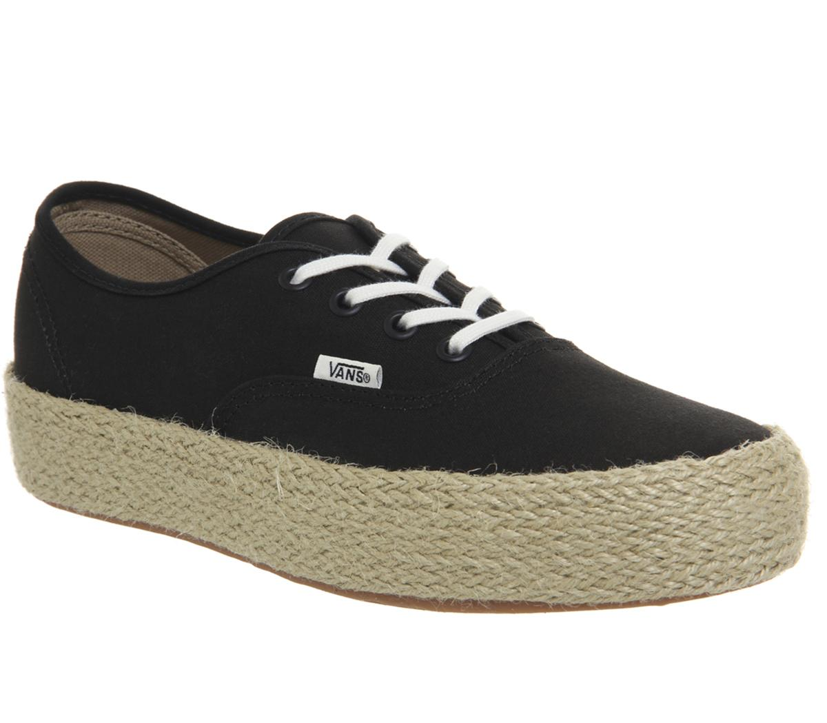 Authentic Platform Espadrilles