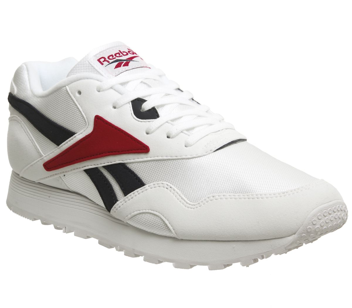 5963ec4abe2 Reebok Rapide Trainers Og White Col Navy Excellent Red - Hers trainers