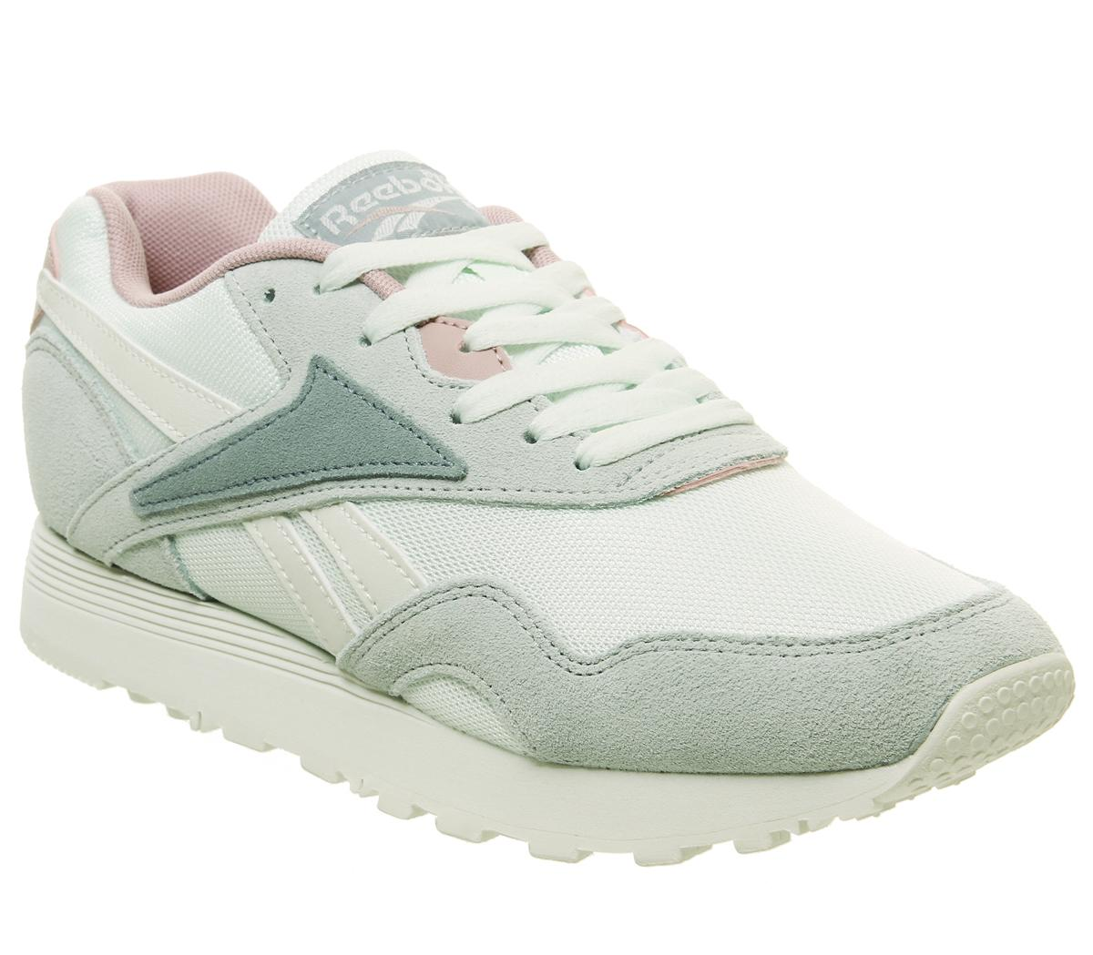 b8f35dcac1a60 Reebok Rapide Trainers Storm Glow Sea Spray Teal Smoky Rose - Hers ...
