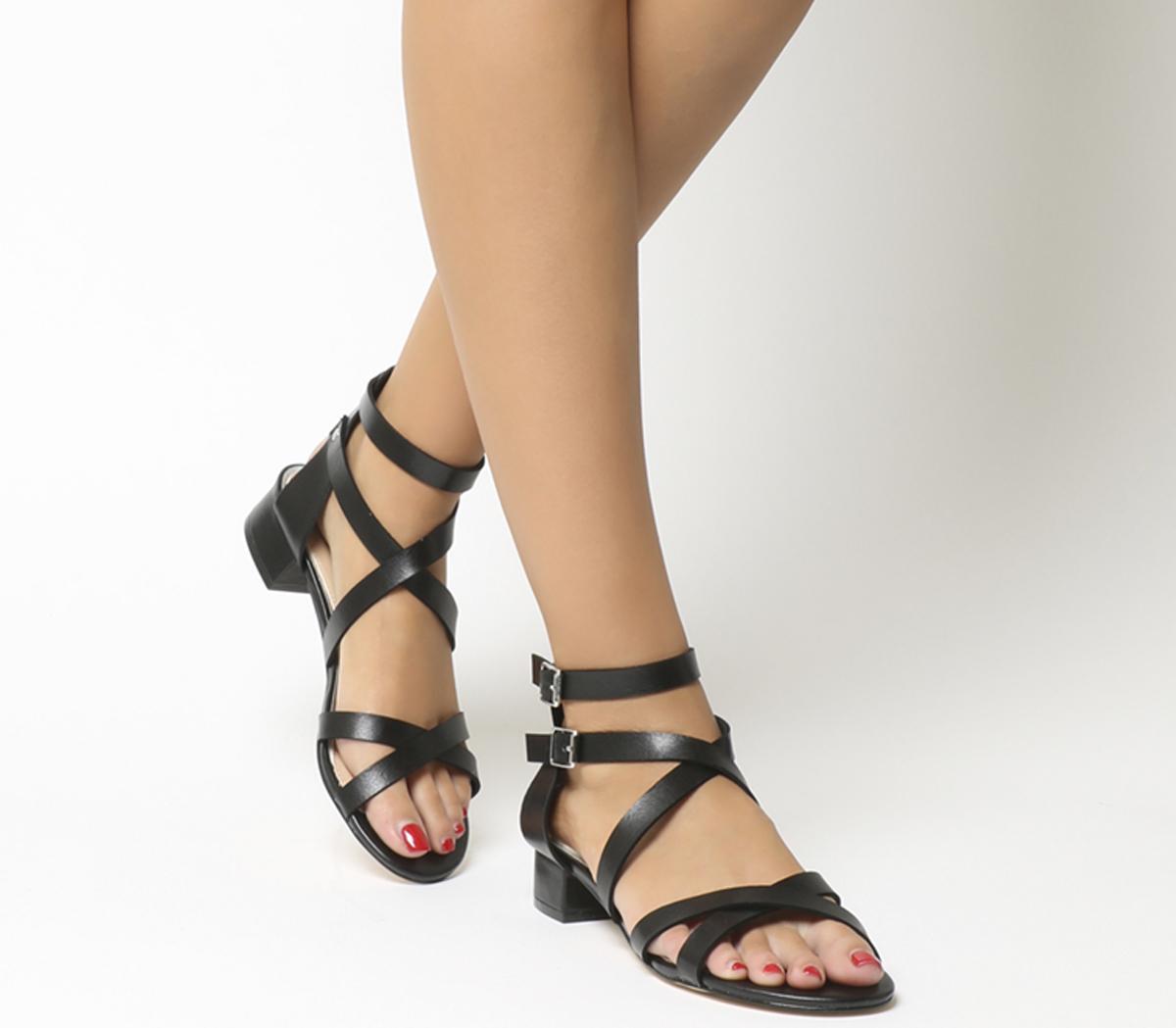 Manhattan Strappy Block Heels