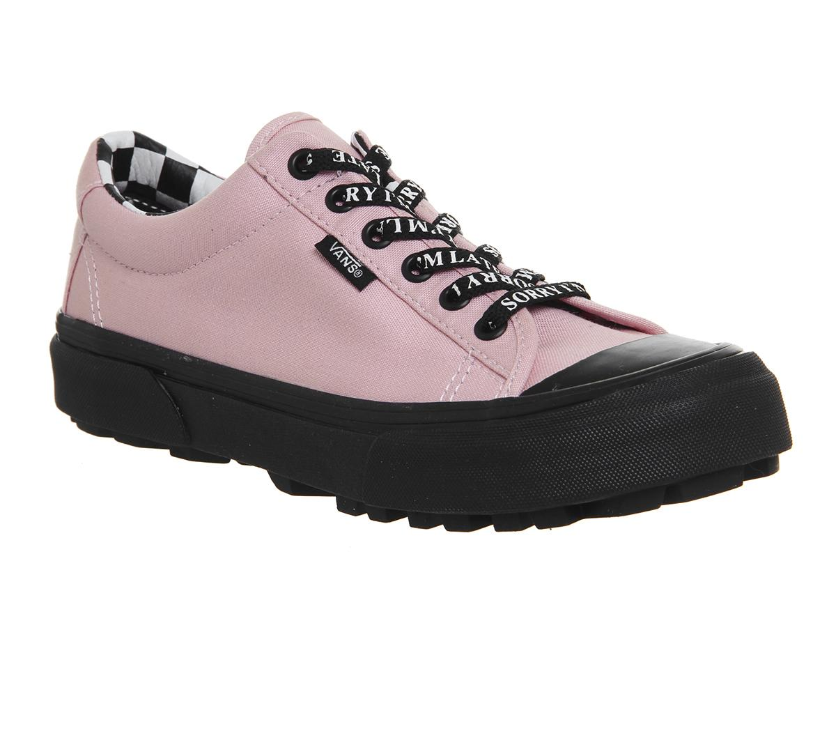 347bc971c5a4a4 Vans Style 29 Trainers Lazy Oaf Almond Blossom Black - Hers trainers