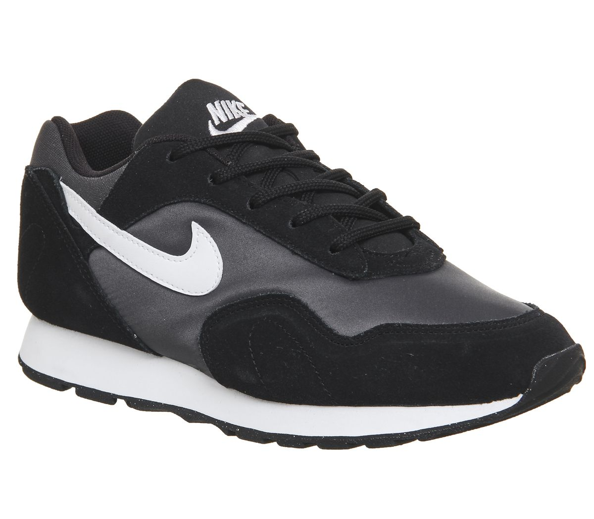 half off ce5c8 65b14 Nike Outburst Trainers Black White - Hers trainers