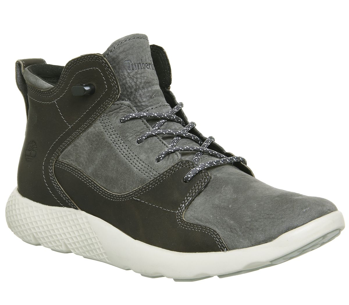 ad47ff347b0 Timberland Flyroam Leather Hiker Boots Grey - Casual