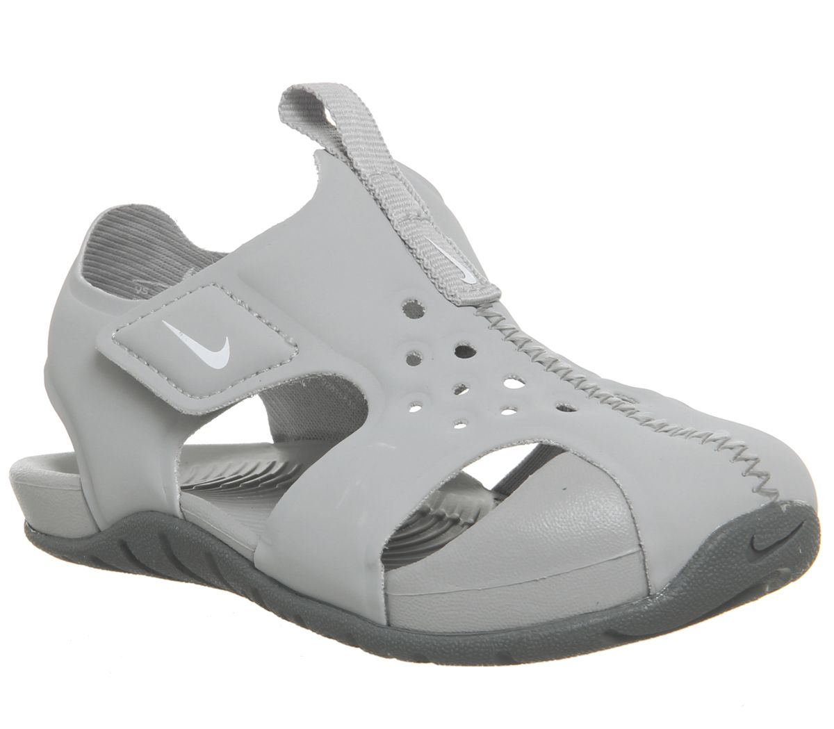 65ac0d6a7acd Nike Sunray Protect Td Sandals Wolf Grey White Cool Grey - Unisex