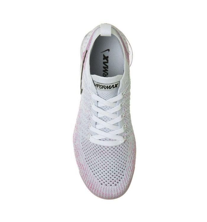 ec4d8a5703 Nike Vapormax Air Vapormax Flyknit 2 Trainers White Black Hydrogen ...