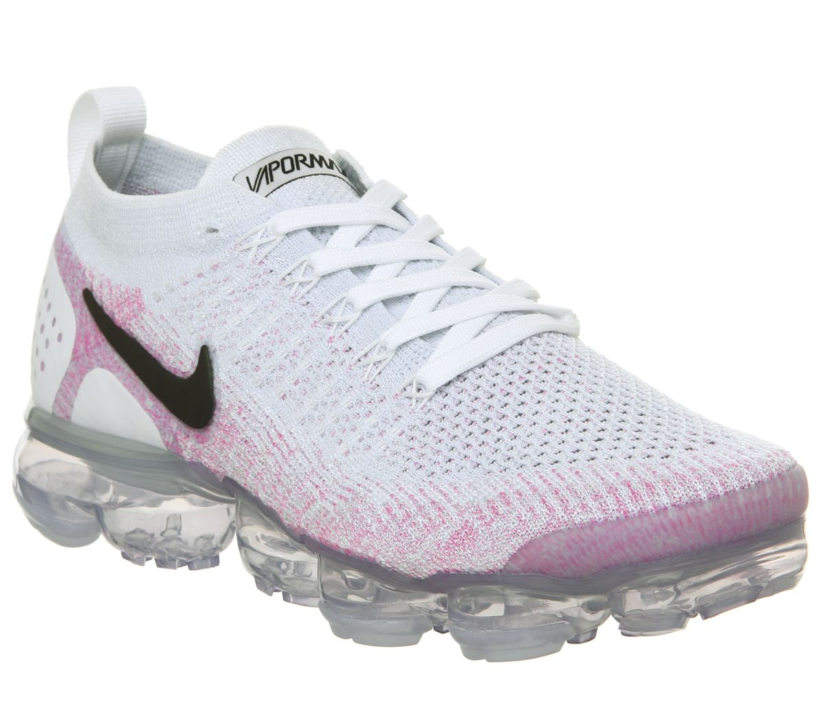 buy online 9776a 8ba45 Nike Vapormax Air Vapormax Flyknit 2 Trainers White Black ...