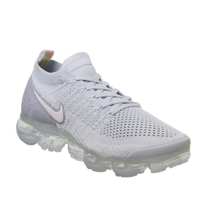 1df9c8f3a282 Nike Vapormax Air Vapormax Flyknit 2 Trainers Pure Platinum Arctic ...