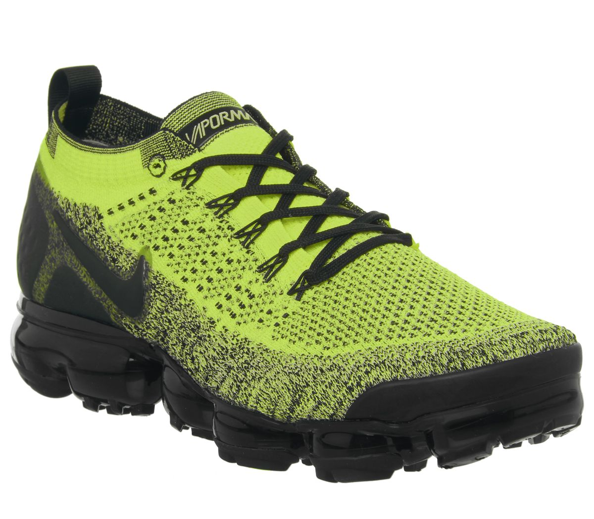 pretty nice 241e5 dec80 Nike Vapormax Air Vapormax Flyknit 2 Trainers Volt Black ...
