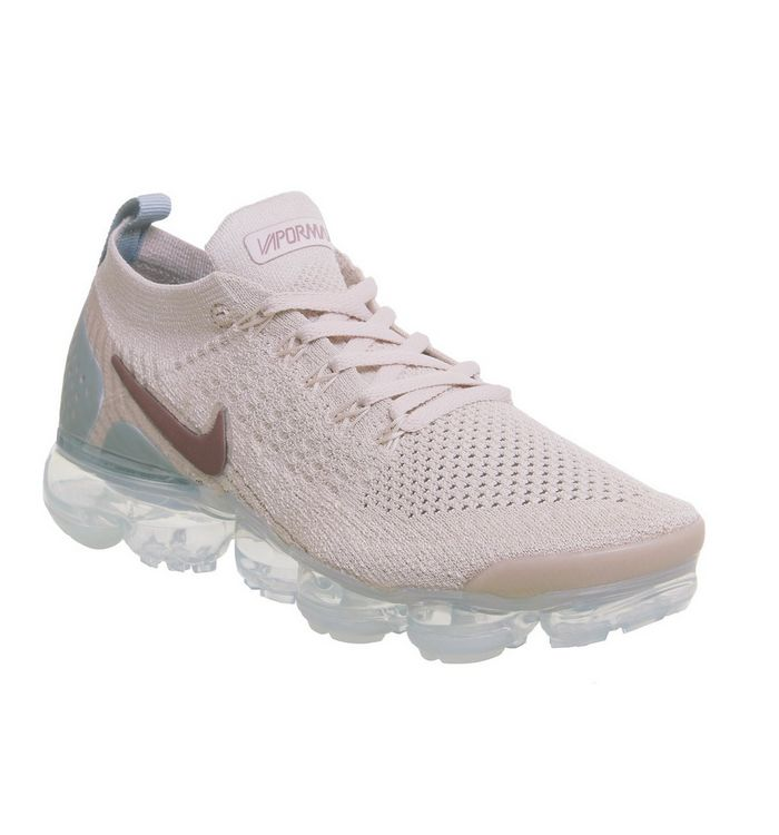 0ab77ba357b7 Nike Vapormax Air Vapormax Flyknit 2 Trainers Particle Beige Smokey ...