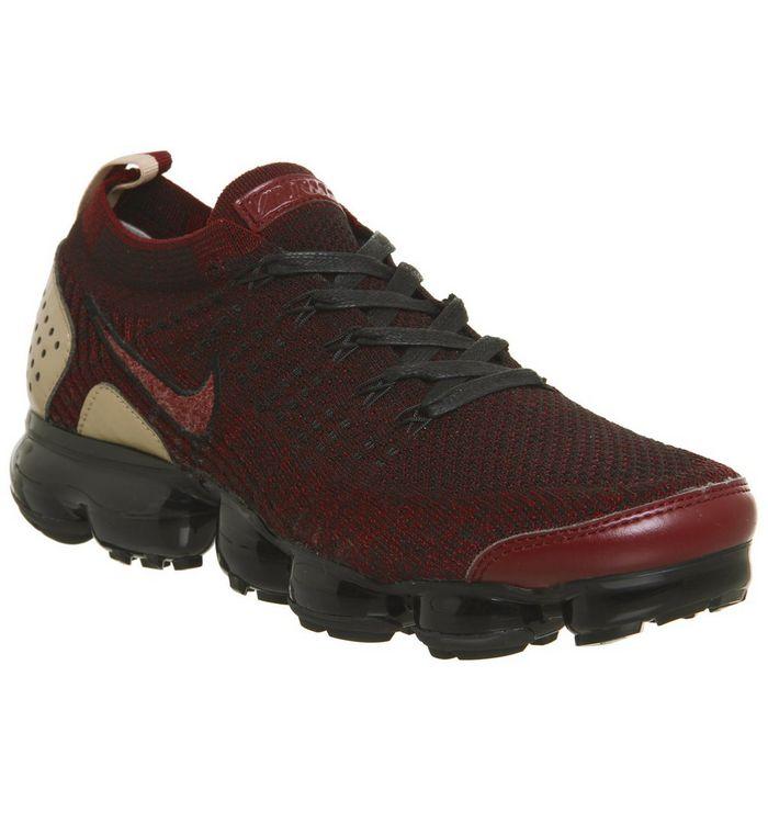 separation shoes 47a0e 02a3a Air Vapormax Flyknit 2  Nike Vapormax, Air Vapormax Flyknit 2, Jacket Team  Red Black Vachetta Tan Qs ...