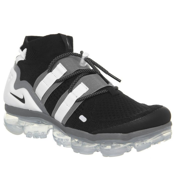 3362e0855a7 Nike Air Vapormax Flyknit Utility Black Cool Grey White Pure ...