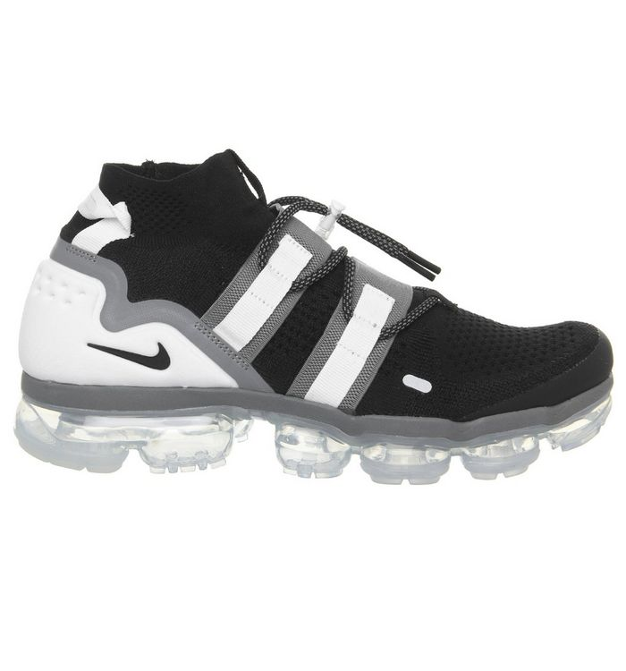 73e5ee40035 ... Black Cool Grey White Pure Platinum  Air Vapormax Flyknit Utility ...