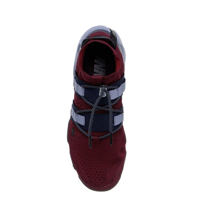 7ed95be44ec1f Nike Air Vapormax Flyknit Utility Trainers Team Red Black Obsidian ...
