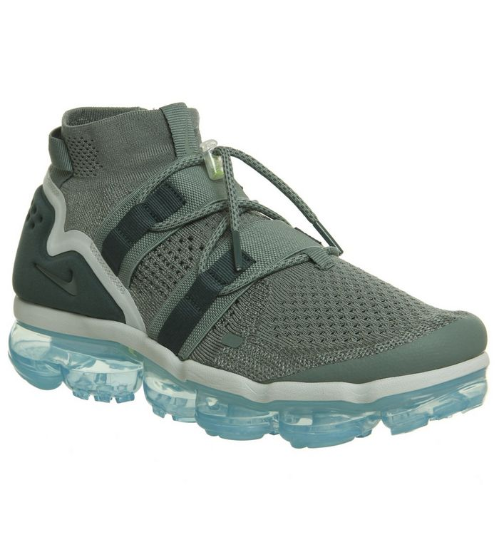 b3481bfae7 Air Vapormax Flyknit Utility Trainers; Nike Vapormax, Air Vapormax Flyknit  Utility Trainers, Clay Green Faded Spruce Barely ...