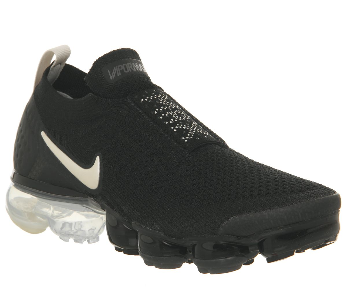 09c941e94c6f Nike Air Vapormax Flyknit Moc 2 Trainers Black Light Cream White ...