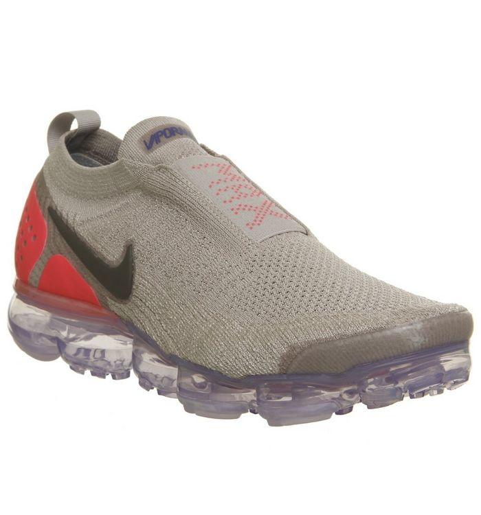 2f8d0dce5e1 Nike Air Vapormax Flyknit Moc 2 Moon Particle Solar Red Indigo Bust ...
