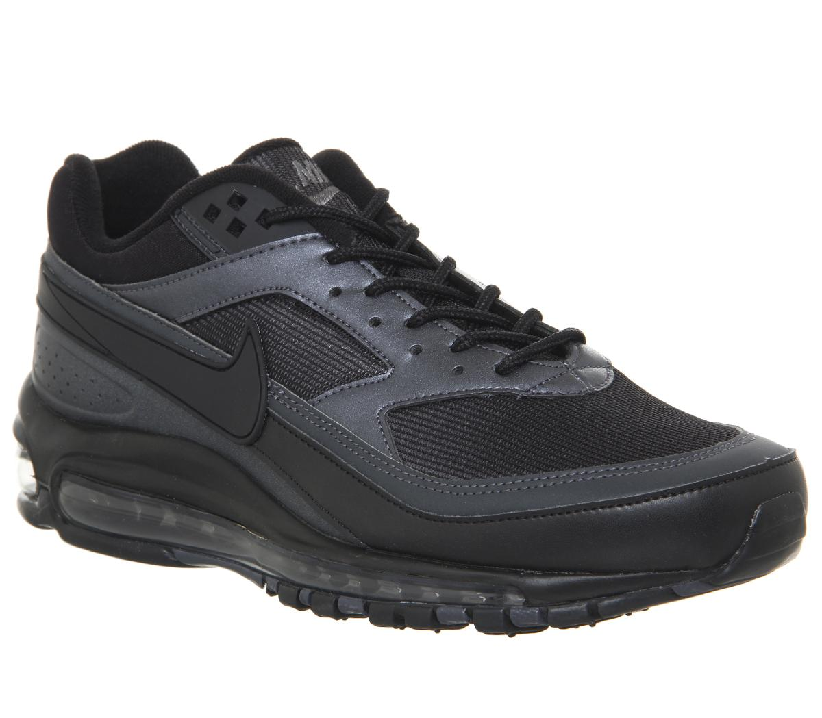 Terapia Unión huella  Nike Air Max 97 /BW Trainers Black Metallic Hematite - His trainers