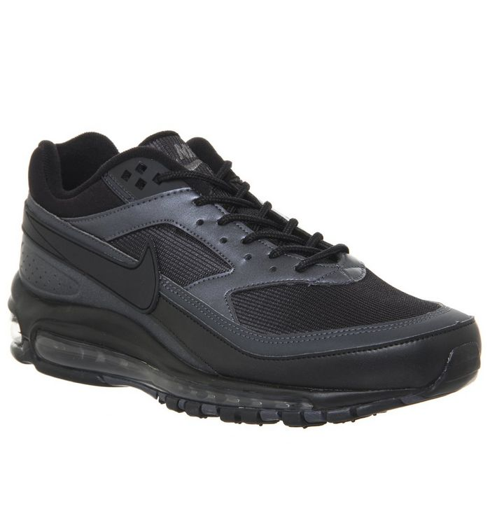 best sneakers 22ead e8d50 ... Nike, Air Max 97  BW Trainers, Black Metallic Hematite ...