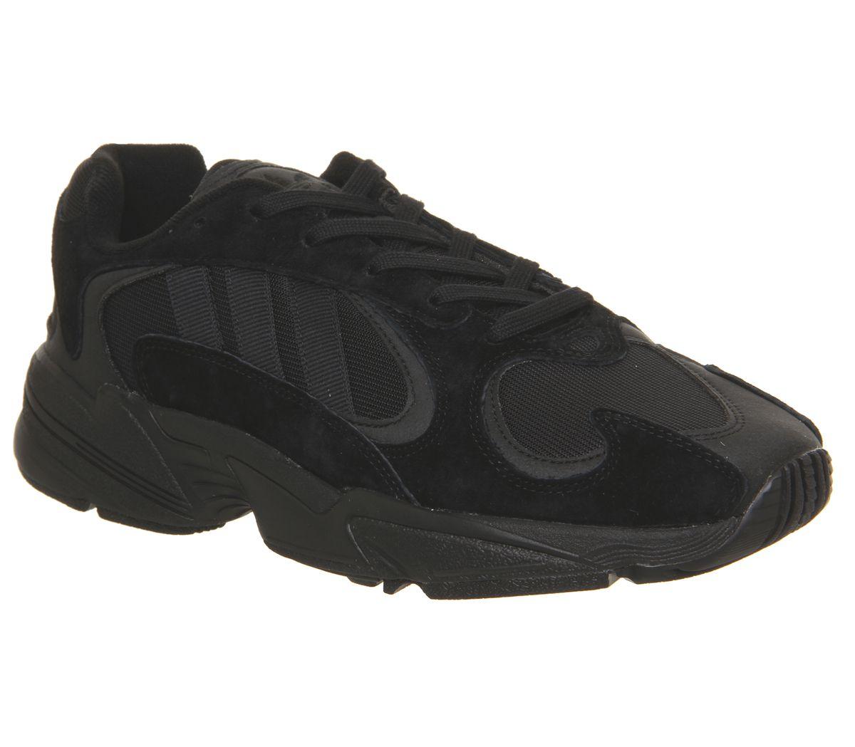 on sale 42093 641d3 adidas, Yung 1 Trainers, Core Black Core Black Carbon