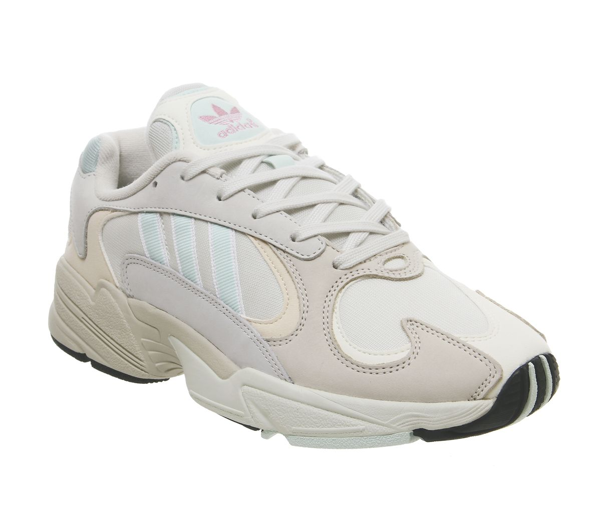f19d2df5052 adidas Yung 1 Trainers Off White Ice Mint Ecru Tint - Unisex Sports