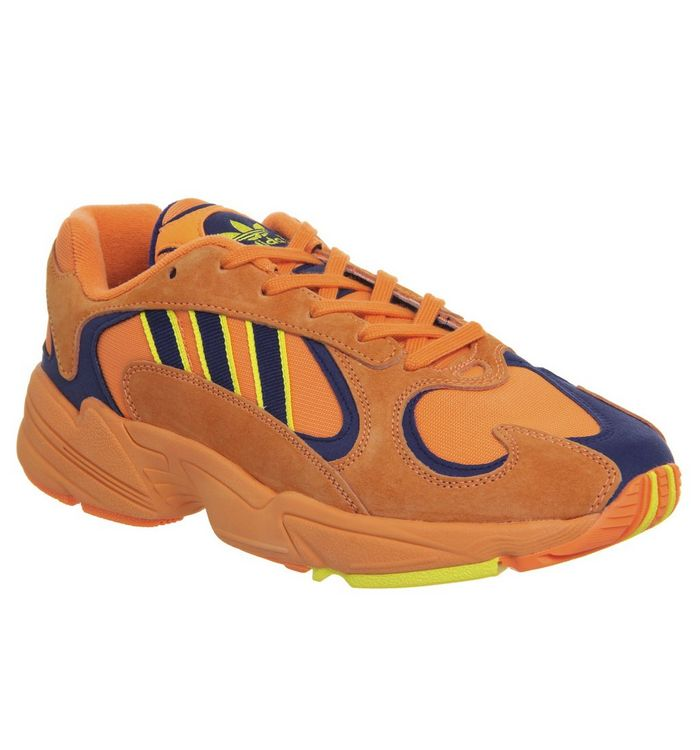 2870350d3b7b adidas Yung 1 Trainers Hi Res Orange Shock Yellow - His trainers