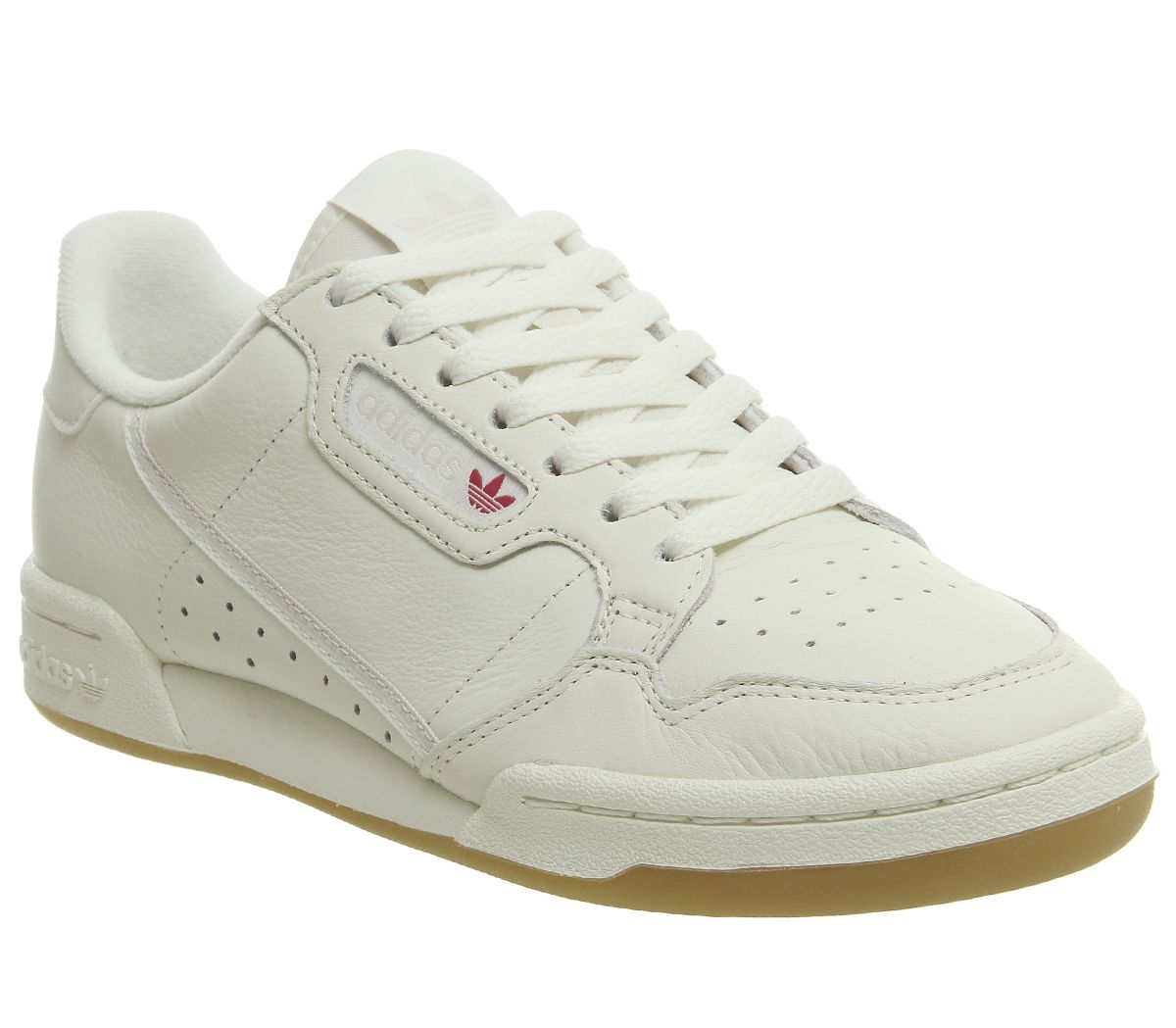 finest selection bce26 34f4b adidas 80s Continental Trainers Off White Raw White Gum - His trainers