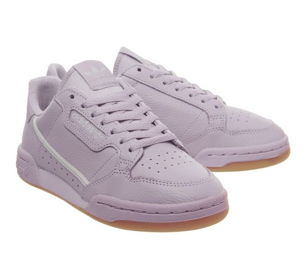 adidas 80s Continental Trainers Soft Vision Grey - Hers trainers opnlXU2