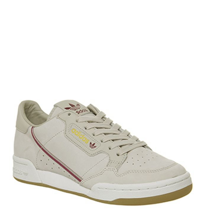60cd63d6fa6f12 10-12-2018 · Adidas Continental 80 s Trainers Light Brown Mustard Burgundy  Gum Tfl