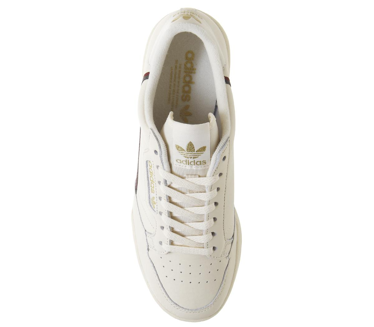 adidas Continental 80s Trainers Chalk