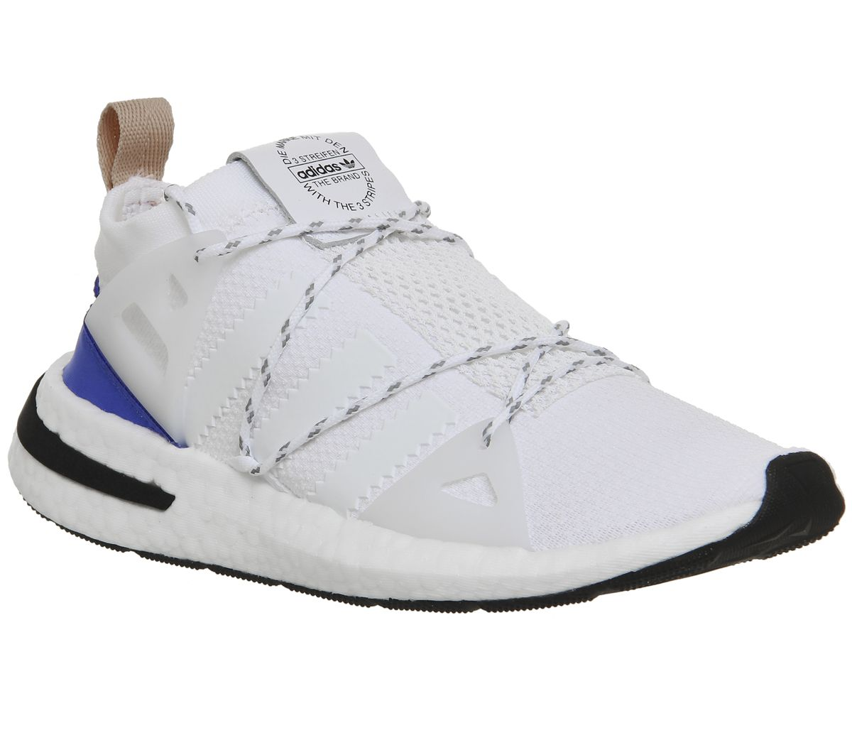 online retailer 65b38 0850a adidas Arkyn Trainers White Ash Pearl F - Hers trainers