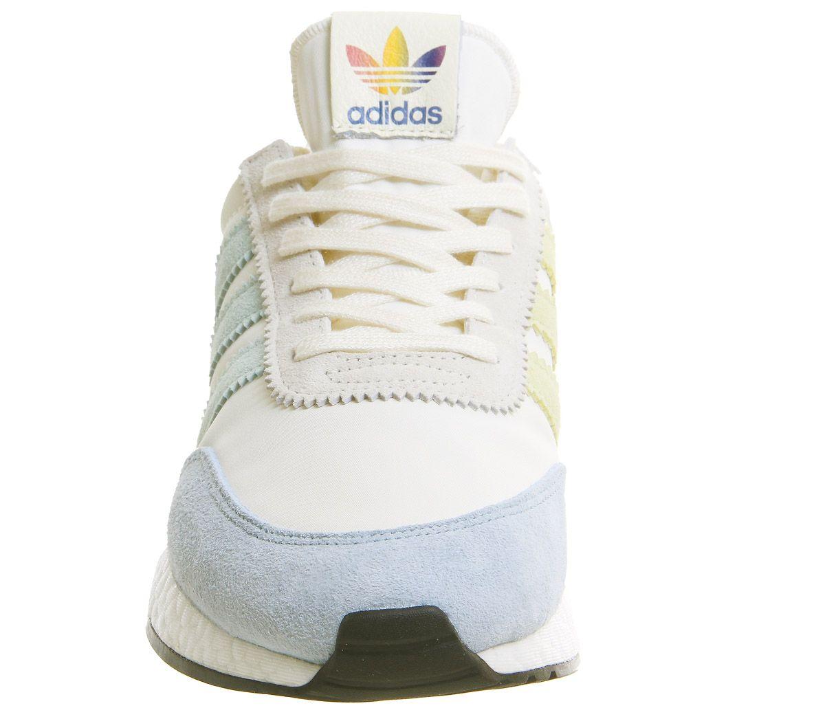 the latest 3059e 7290e adidas I-5923 Trainers Pride Cream White Core Black - His trainers