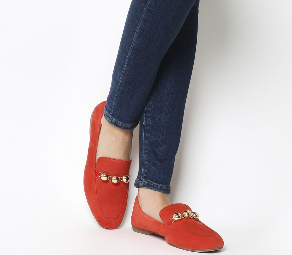 2028aace099 Vagabond Ayden Buckle Loafers Coral - Flats