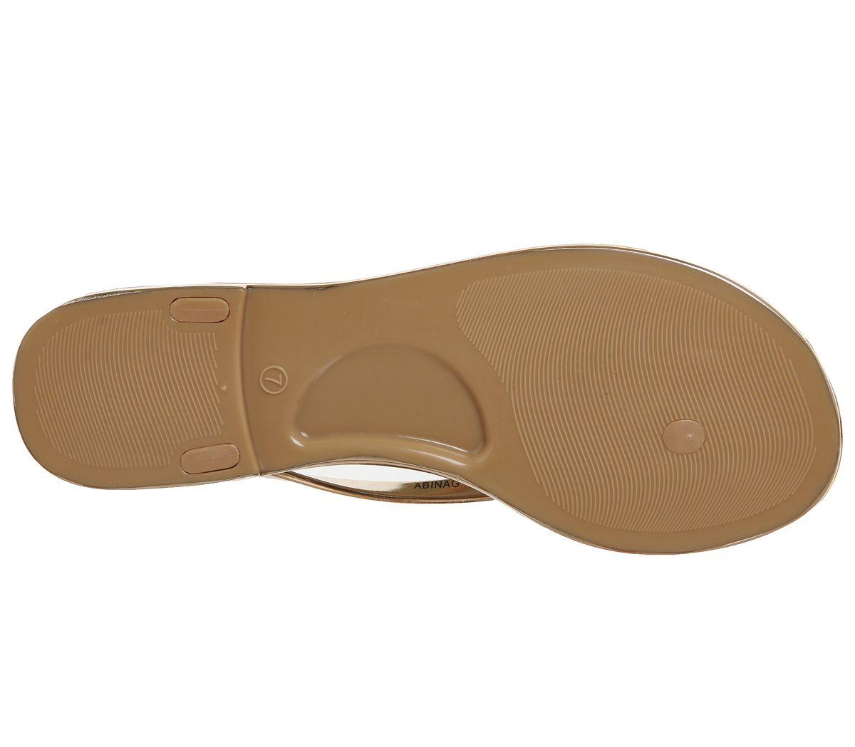 67d1035dd Ted Baker Glamari Flip Flops Rose Gold - Sandals